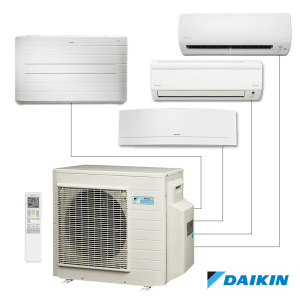 wall mounted multi split system air conditioning