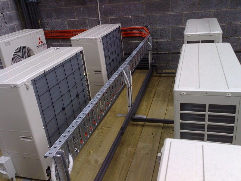 Mitsubishi air conditioning installation La Trobe University