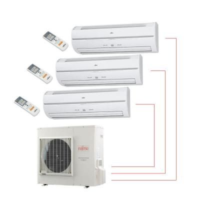 Fujitsu multi head split system air conditioner La Trobe University